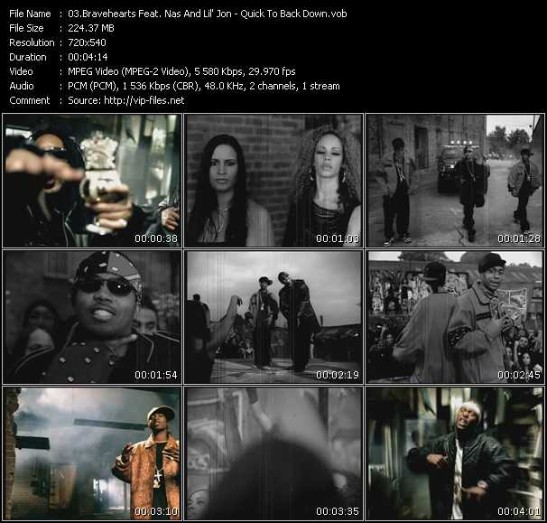 Bravehearts Feat. Nas And Lil' Jon video screenshot