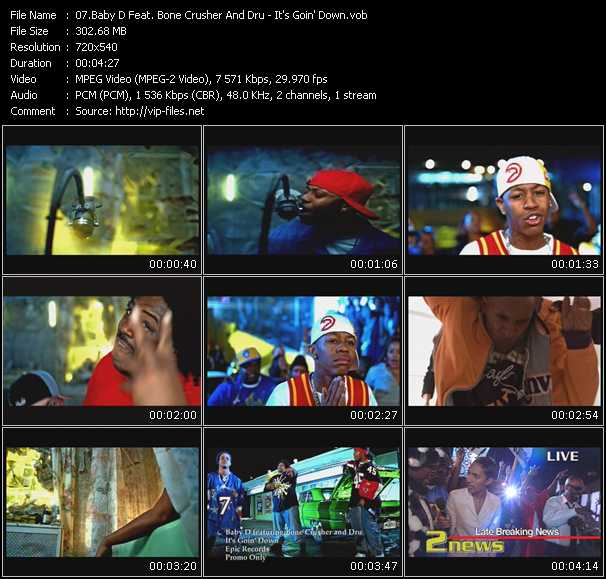 Baby D Feat. Bone Crusher And Dru video screenshot