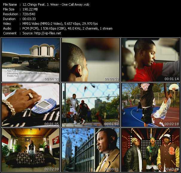 Chingy Feat. J. Weav video screenshot