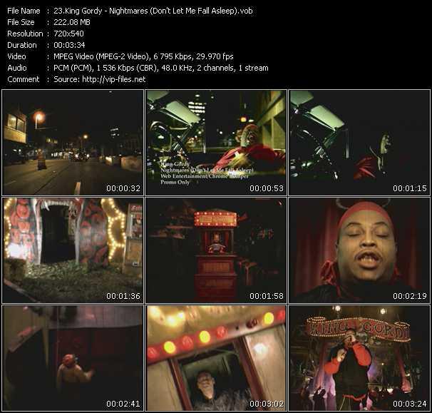 King Gordy video screenshot