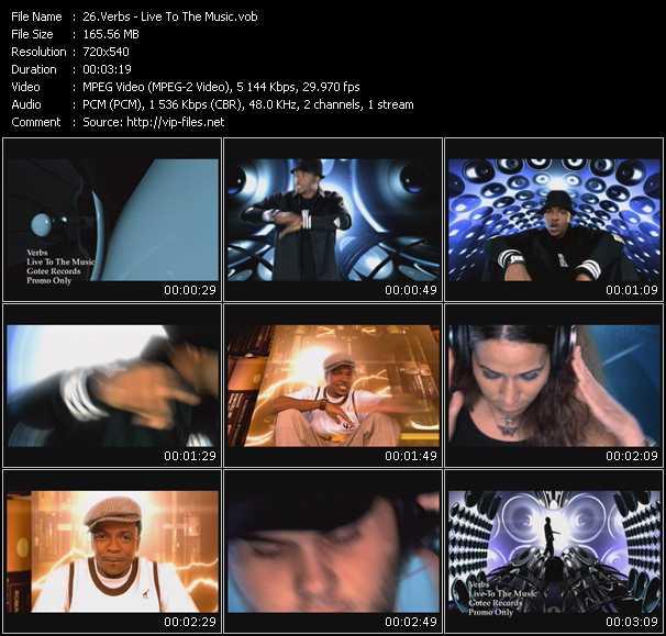 Verbs video screenshot