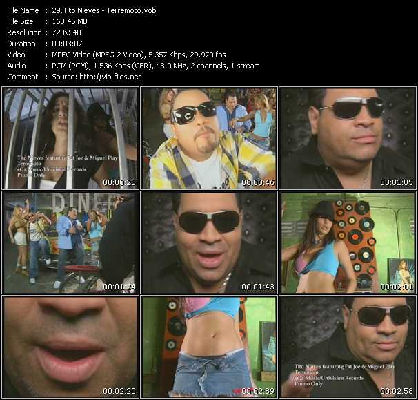 Tito Nieves Feat. Fat Joe And Miguel Play video screenshot