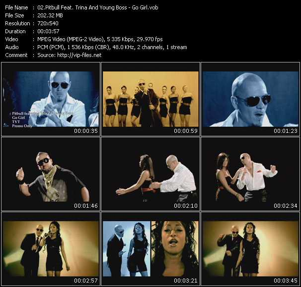 Pitbull Feat. Trina And Young Boss video screenshot