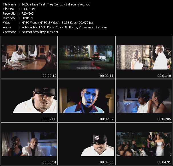 Scarface Feat. Trey Songz video screenshot