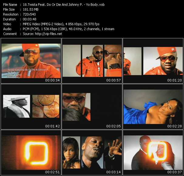 Twista Feat. Do Or Die And Johnny P. video screenshot
