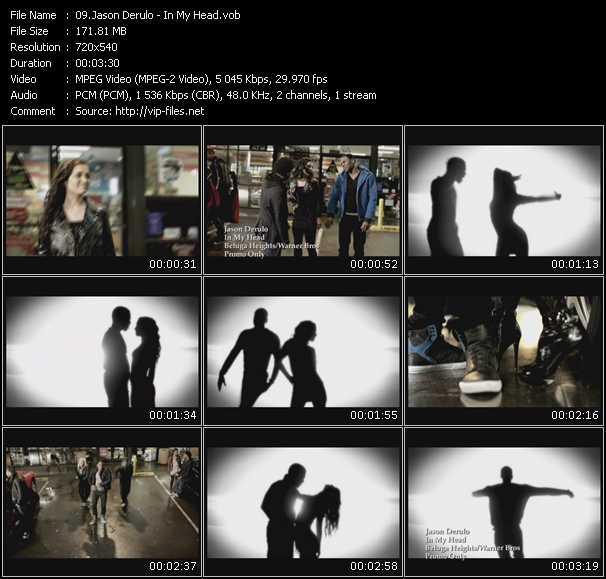 video In My Head screen