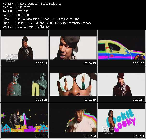 D.C. Don Juan video screenshot