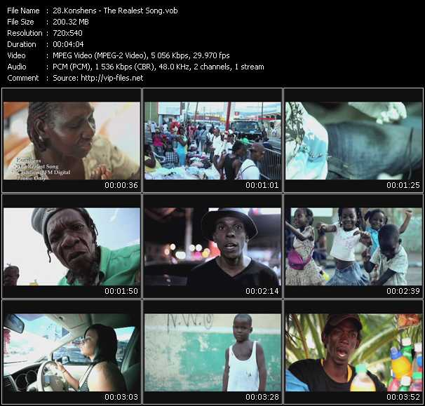 Konshens video screenshot