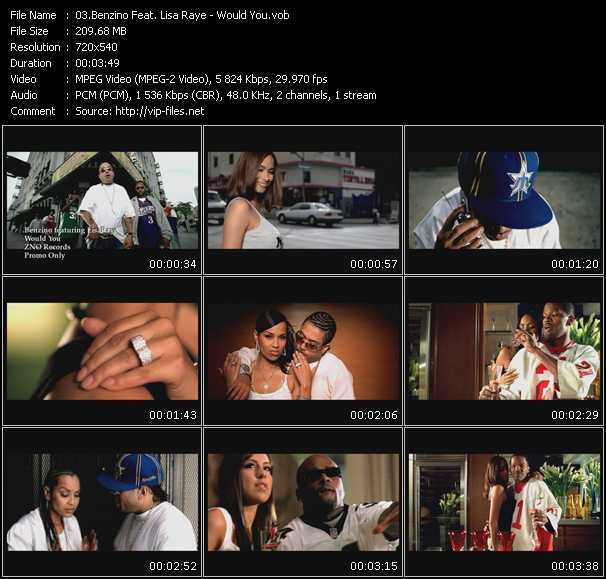 Benzino Feat. Lisa Raye video screenshot