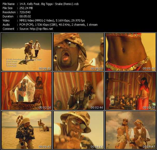 R. Kelly Feat. Big Tigga video screenshot