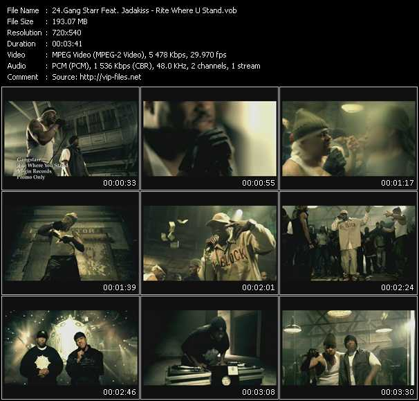 Gang Starr Feat. Jadakiss video screenshot