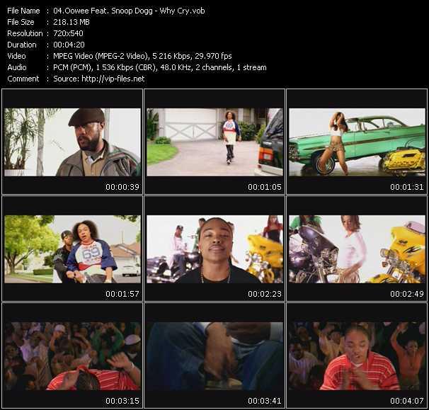 Oowee Feat. Snoop Dogg video screenshot