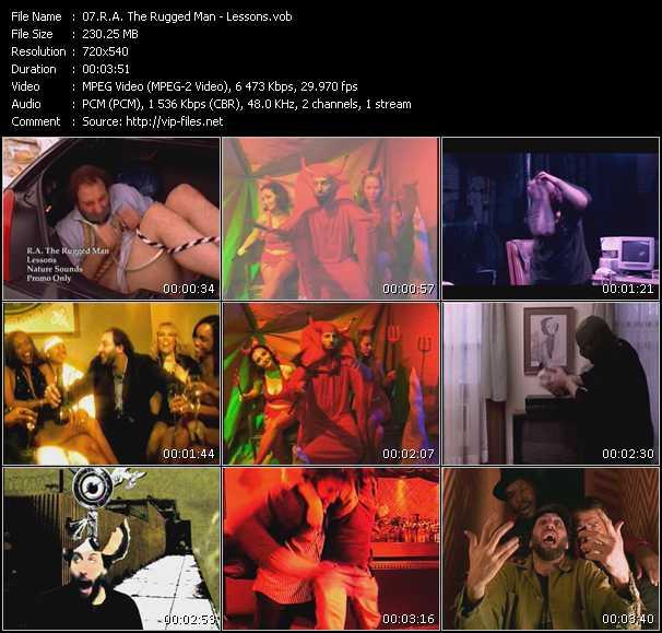 R.A. The Rugged Man video screenshot