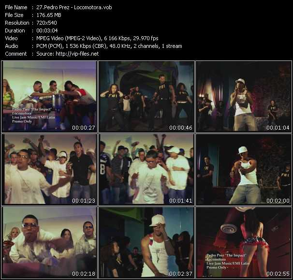 Pedro Prez 'The Impact' video screenshot
