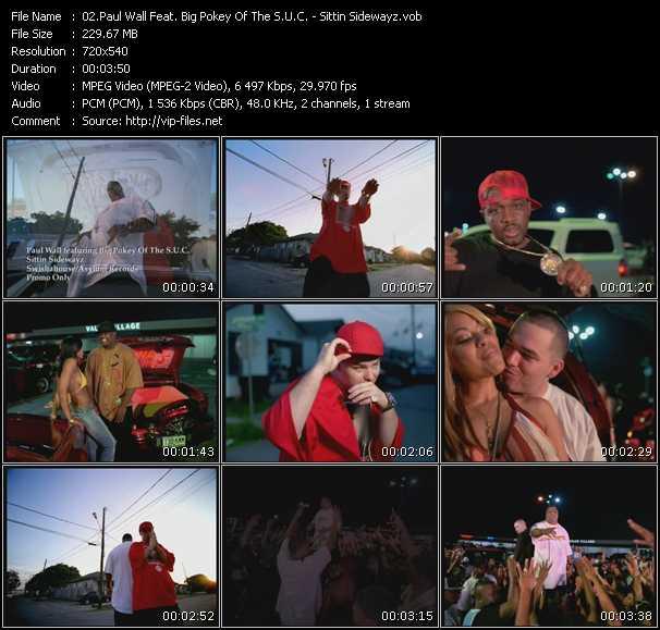 Paul Wall Feat. Big Pokey Of The S.U.C. video screenshot