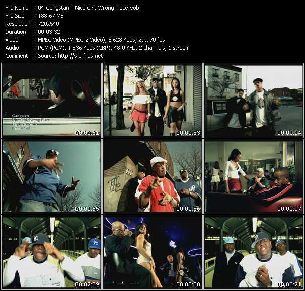 Gangstarr video screenshot