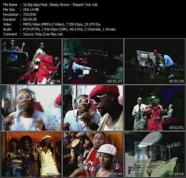 Big Gipp Feat. Sleepy Brown video screenshot