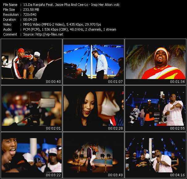Da Ranjahz Feat. Jazze Pha And Cee Lo Green video screenshot