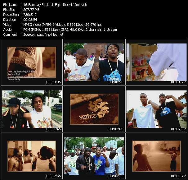 Fam Lay Feat. Lil' Flip video screenshot