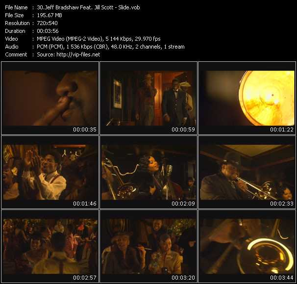 Jeff Bradshaw Feat. Jill Scott video screenshot