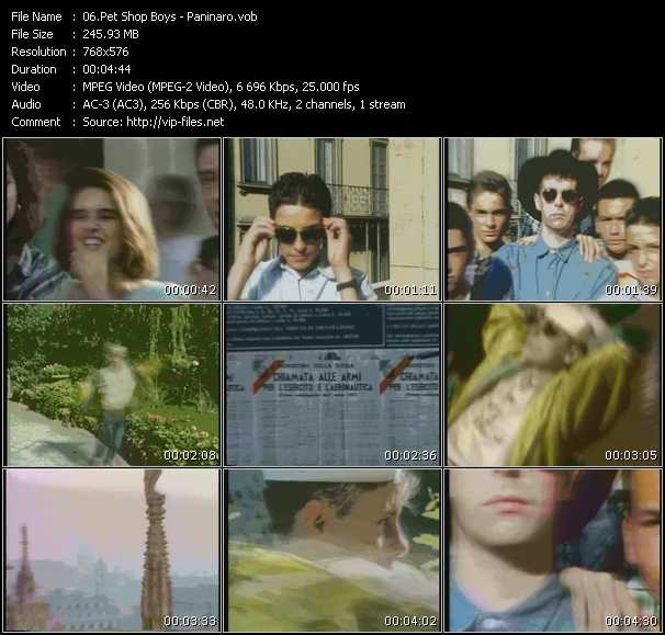 video Paninaro screen