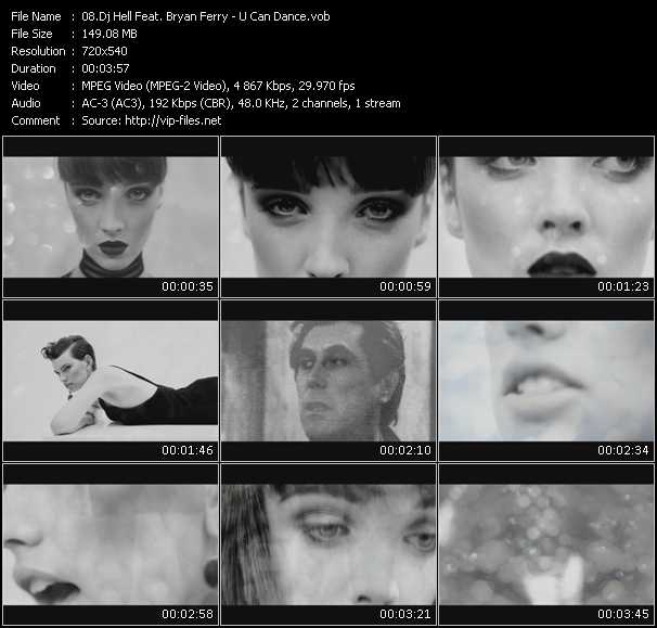 Dj Hell Feat. Bryan Ferry video screenshot