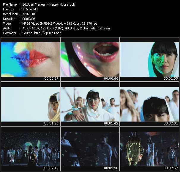 Juan Maclean video screenshot