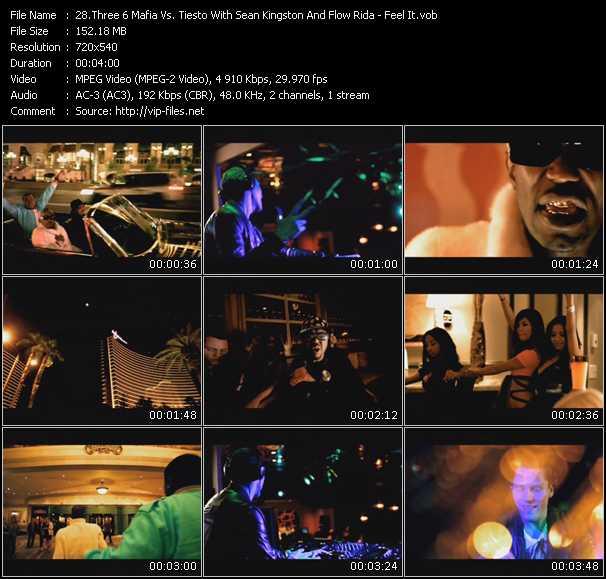 Three 6 Mafia Vs. Tiesto With Sean Kingston And Flo Rida video screenshot