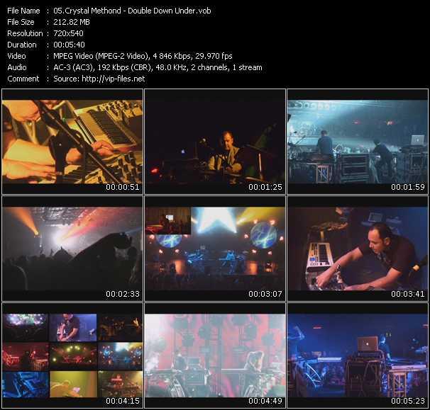 Crystal Methond video screenshot
