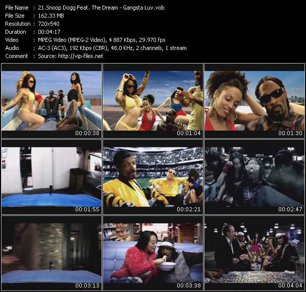 Snoop Dogg Feat. The-Dream video screenshot