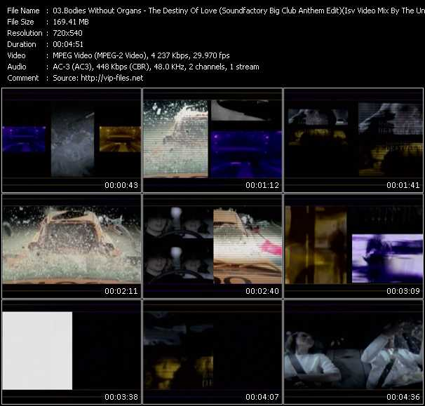 video The Destiny Of Love (Soundfactory Big Club Anthem Edit) (Isv Video Mix By The Undeniable-D.Gauss) screen