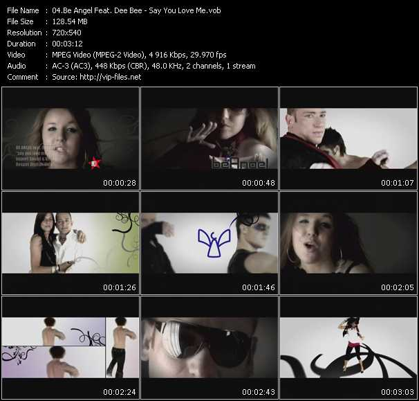 Be Angel Feat. Dee Bee video screenshot