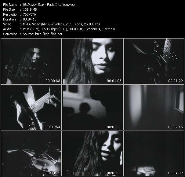 Mazzy Star video screenshot