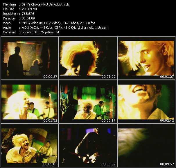 K's Choice video screenshot