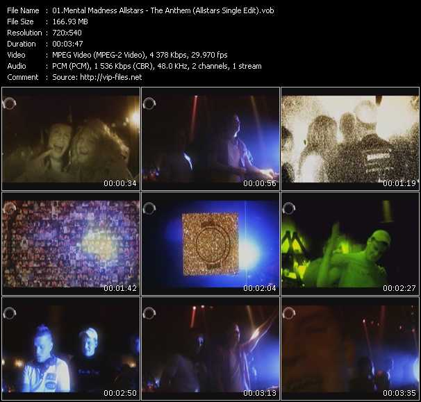Mental Madness Allstars video screenshot