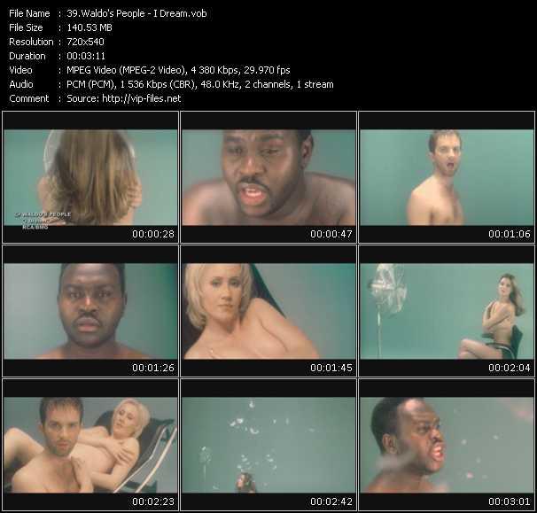 video I Dream screen