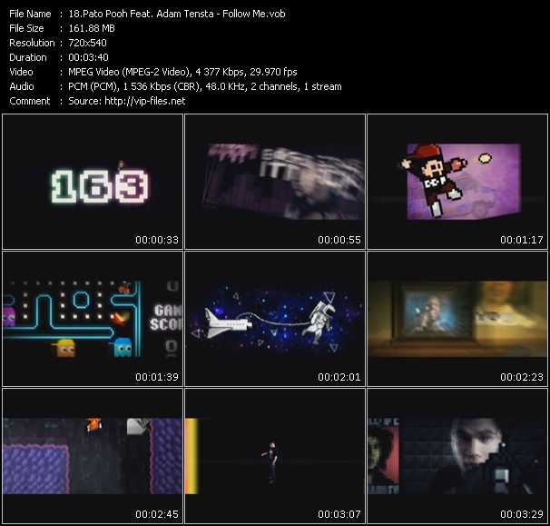Pato Pooh Feat. Adam Tensta video screenshot