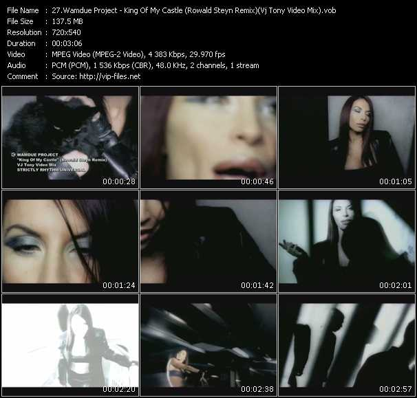 video King Of My Castle (Rowald Steyn Remix) (Vj Tony Video Mix) screen