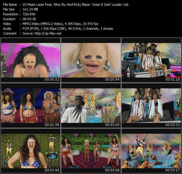 Major Lazer Feat. Nina Sky And Ricky Blaze video screenshot