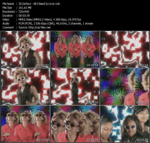 De'lacy video screenshot