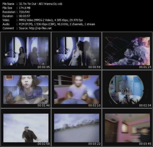 Tin Tin Out video screenshot
