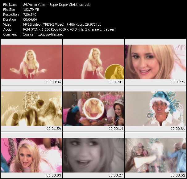 Yumm Yumm video screenshot