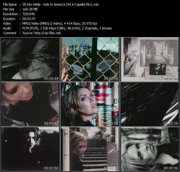 Kim Wilde video screenshot