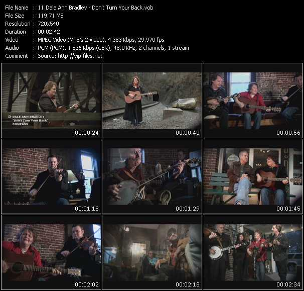 Dale Ann Bradley video screenshot