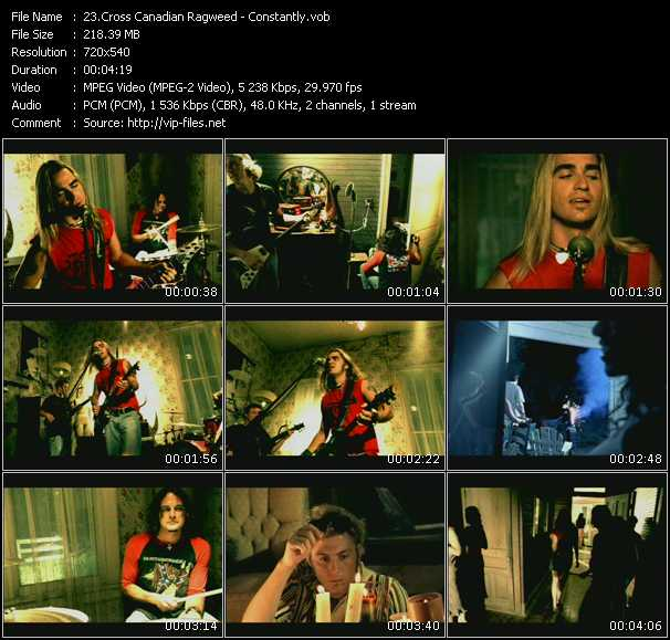 Cross Canadian Ragweed video screenshot