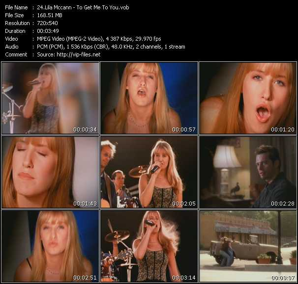 Lila Mccann video screenshot
