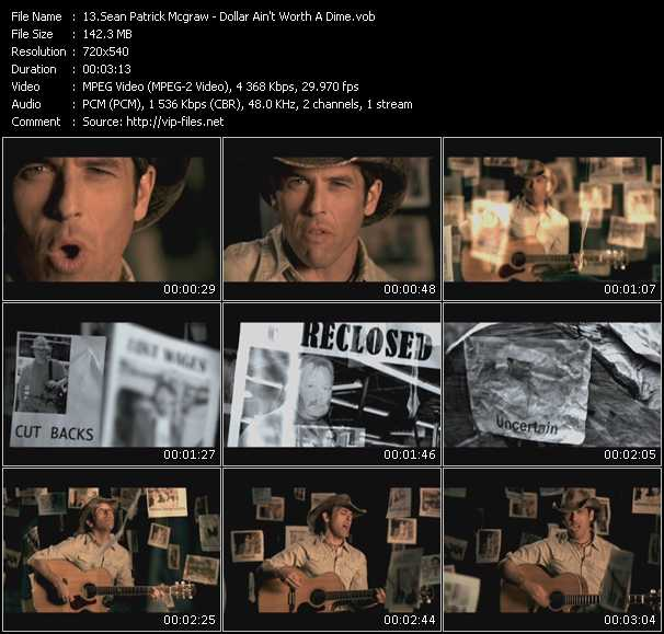 Sean Patrick McGraw video screenshot