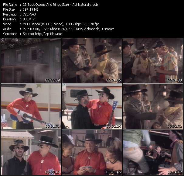 Buck Owens And Ringo Starr video screenshot