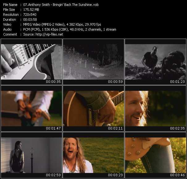 Anthony Smith video screenshot