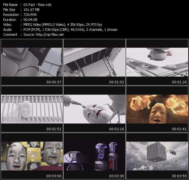 Fact video screenshot